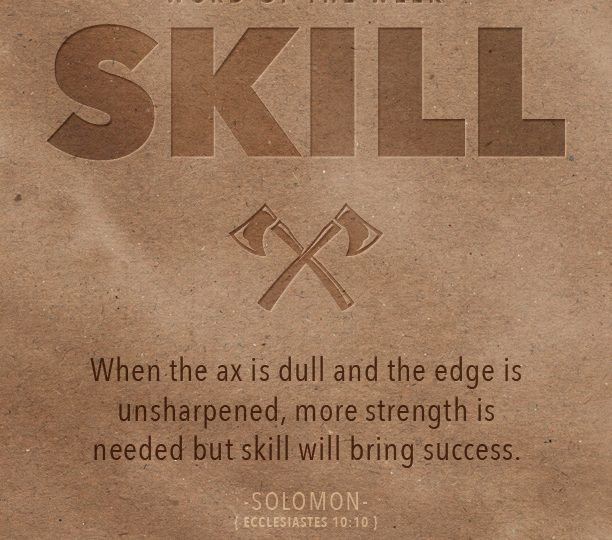 The Secret To Success: Skill