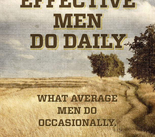 Seven Habits of Effective Men